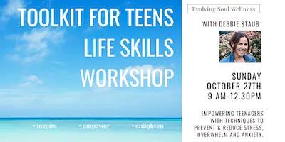 TOOLKIT FOR TEENS LIFE SKILLS WORKSHOP