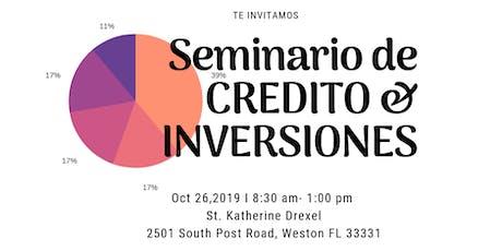 Seminario de Credito e Inversiones entradas