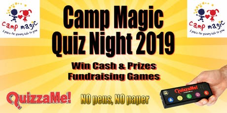 Camp Magic Quiz Night tickets