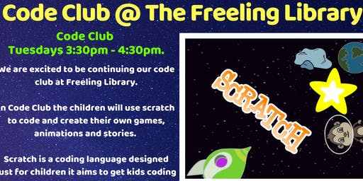 Term 4: Code Club @ Freeling Library