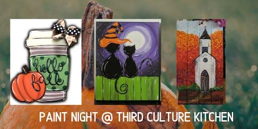 Paint Night @ Third Culture Kitchen