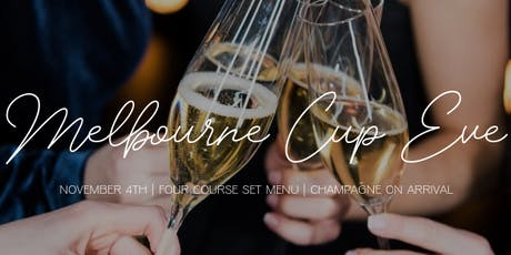 Melbourne Cup Eve Dinner tickets