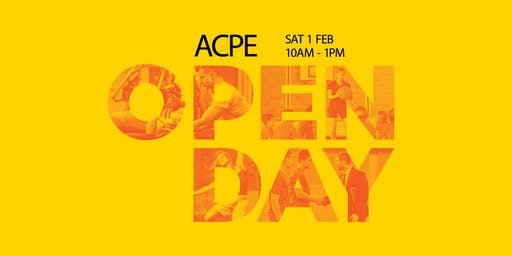ACPE Open Day - 1 February 2020 - Sydney Olympic Park