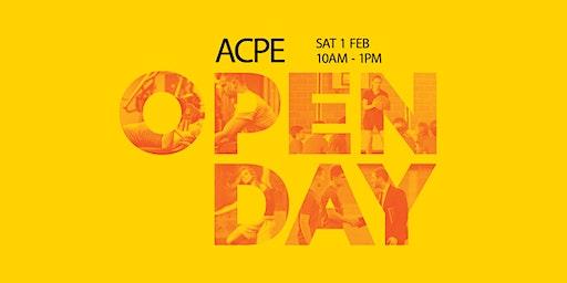 ACPE Open Day - 1 February 2020 - Sydney Olympic Park