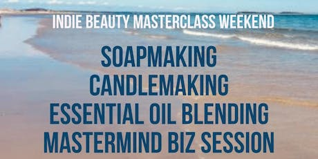 Indie Beauty Masterclass Weekend in Plymouth, MA - Create, Relax and Renew! tickets