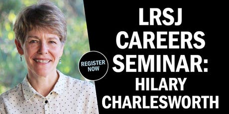 LRSJ Careers Seminar: Promoting Human Rights with the Law tickets