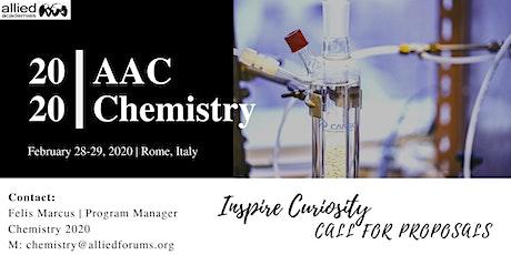 Chemistry 2020 biglietti