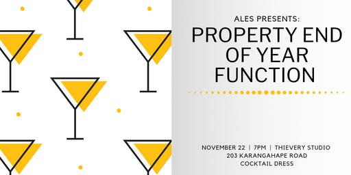 ALES Presents: Property End of Year Function