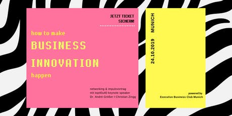 How to make Business Innovation happen Tickets