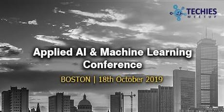 Applied AI & Machine Learning Conference - Boston tickets