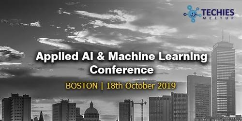 Applied AI & Machine Learning Conference - Boston