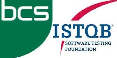 ISTQB/BCS Software Testing Foundation 3 Days Training in Cork tickets