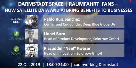 Darmstadt Space | Raumfahrt - How satellite data and AI bring benefits to businesses Tickets