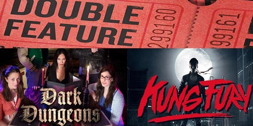 Kung Fury & Dark Dungeons Double Feature at Popcorn Roulette