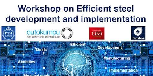 Workshop on Efficient steel development and implementation