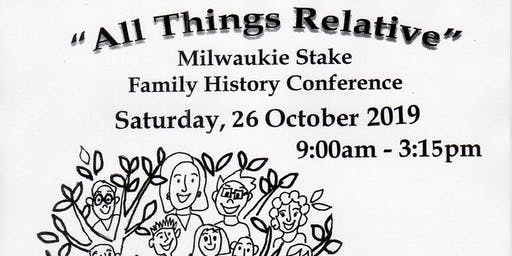 2019 Family History Conference