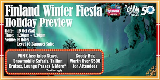 Finland Winter Fiesta Holiday Preview
