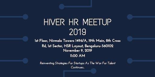 Hiver HR Meetup 2019