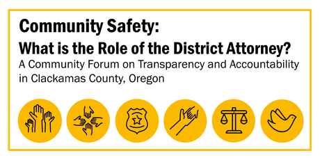 Community Safety: What is the Role of the District Attorney? tickets