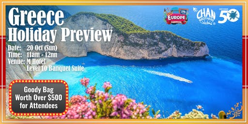 Greece Holiday Preview