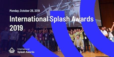 The International Splash Awards tickets
