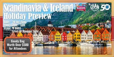 Scandinavia & Iceland Holiday Preview
