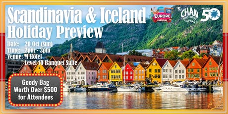 Scandinavia & Iceland Holiday Preview  tickets