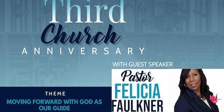 Chosen Generation Church Third Church Anniversary tickets