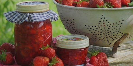 Jam making demonstration + garden tour and forage tickets