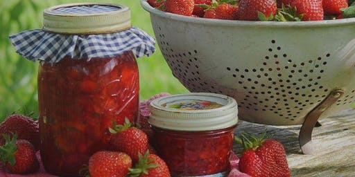 Jam making demonstration + garden tour and forage