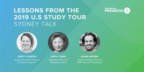 Lessons from the 2019 U.S Study Tour | Sydney Talk tickets