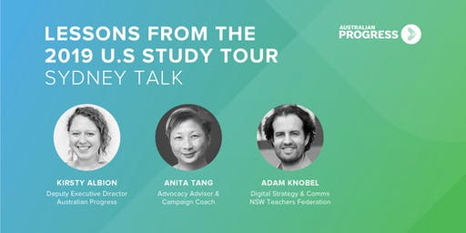 Lessons from the 2019 U.S Study Tour | Sydney Talk