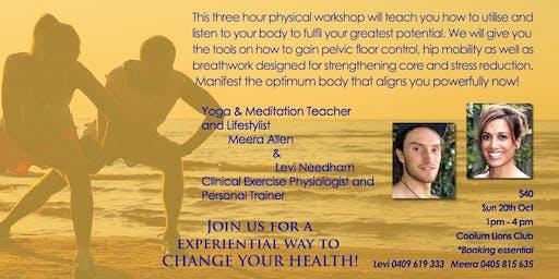 Spring Body Manifesting Workshop