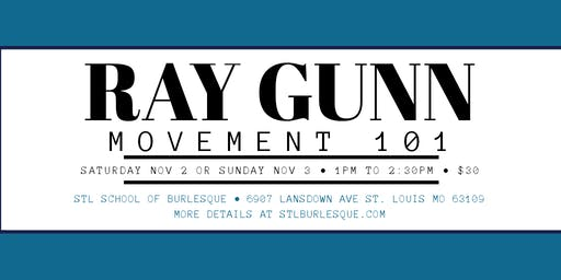 Movement 101 w/ Ray Gunn - Sunday edition