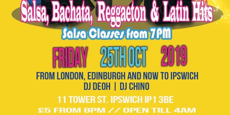 Friday 25th Oct Mucho Latino @The Rep Live tickets