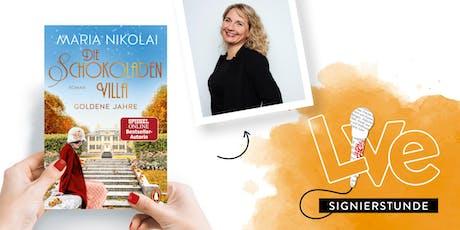 SIGNIERSTUNDE: Maria Nikolai Tickets