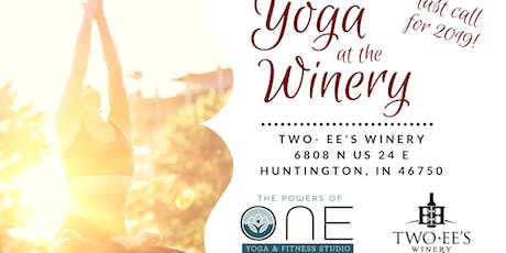Yoga at the Winery - October 2019 tickets