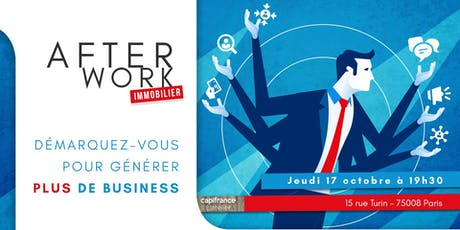 Afterwork Immobilier - 17 Octobre - Paris 8 billets