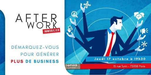 Afterwork Immobilier - 17 Octobre - Paris 8