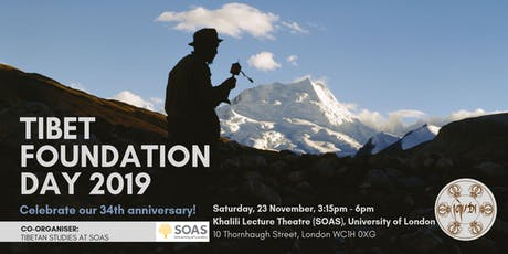 Tibet Foundation Day 2019: Celebrate our 34th Anniversary tickets