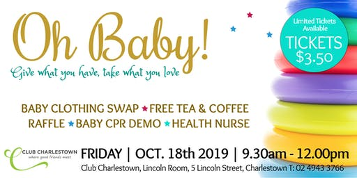 Oh Baby - October Baby Clothing Swap Event