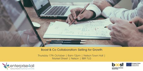 Boost & Co collaboration- Selling for Growth tickets
