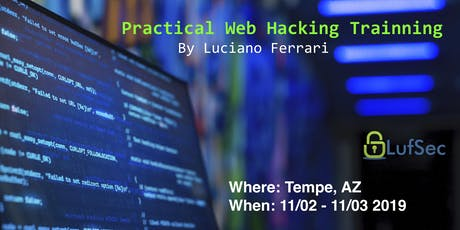 Practical Web Hacking Training tickets