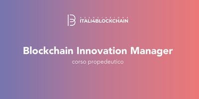BLOCKCHAIN INNOVATION MANAGER
