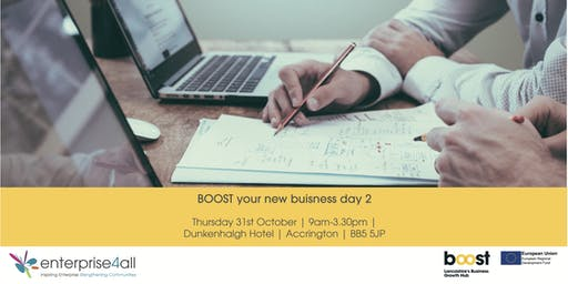 Boost your New Business - Day 2