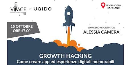 Growth Hacking: Come creare App e Esperienze Digit biglietti