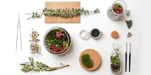 Leafage Terrarium Workshop - January