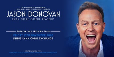 Jason Donovan 'Even More Good Reasons' Tour (Corn Exchange, Kings Lynn)