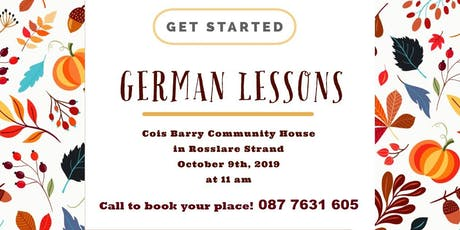 German Lessons tickets
