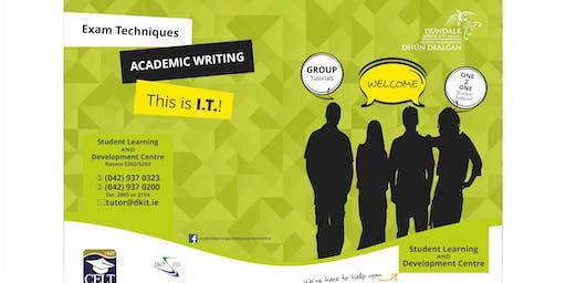 Understanding the writing process